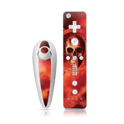 Blood Ring Wii Nunchuk/Remote Skin