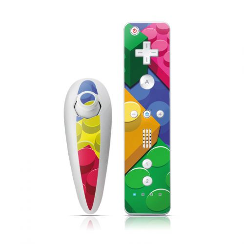 Bricks Wii Nunchuk/Remote Skin