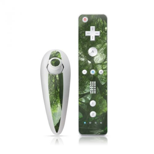 Canopy Creek Spring Wii Nunchuk/Remote Skin