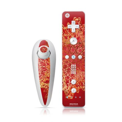 Dodecahedron Cage Wii Nunchuk/Remote Skin