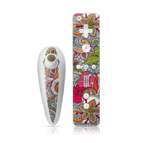 Doodles Color Wii Nunchuk/Remote Skin
