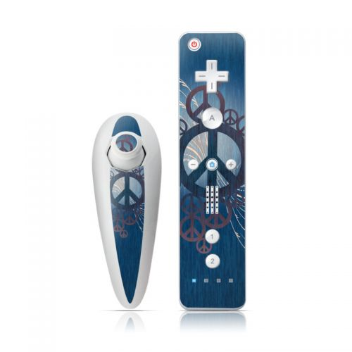 Peace Out Wii Nunchuk/Remote Skin