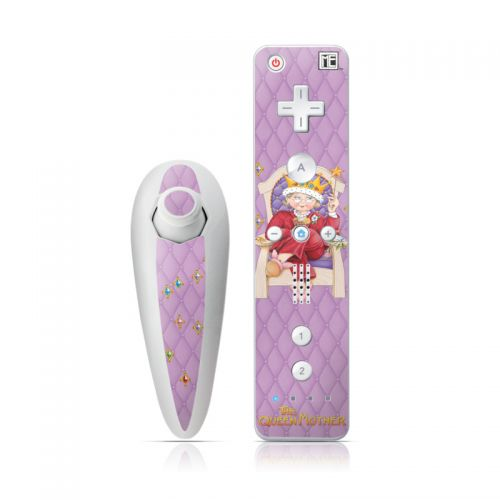 Queen Mother Wii Nunchuk/Remote Skin