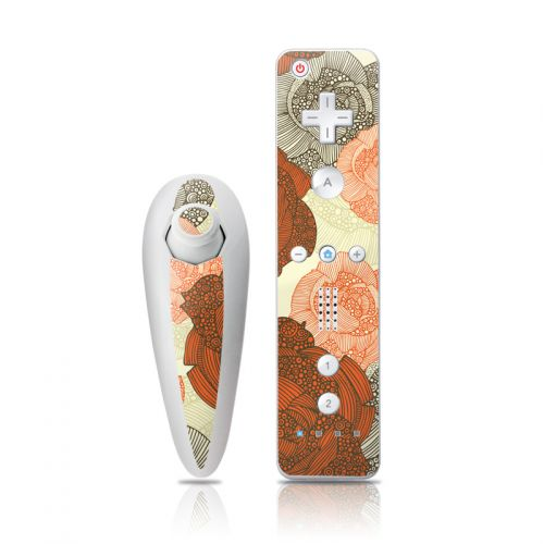 Roses Wii Nunchuk/Remote Skin