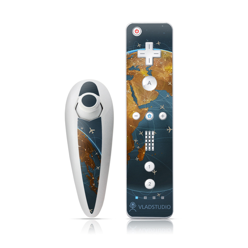 Airlines Wii Nunchuk/Remote Skin