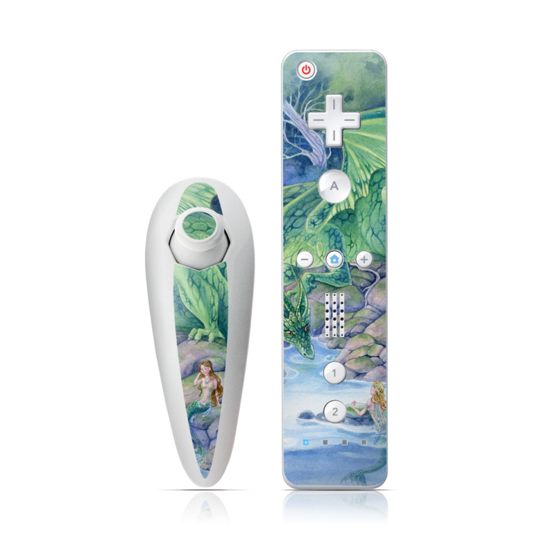 Of Air And Sea Wii Nunchuk/Remote Skin