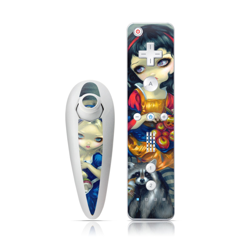 Alice & Snow White Wii Nunchuk/Remote Skin