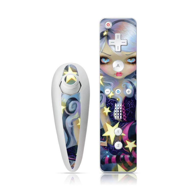 Angel Starlight Wii Nunchuk/Remote Skin