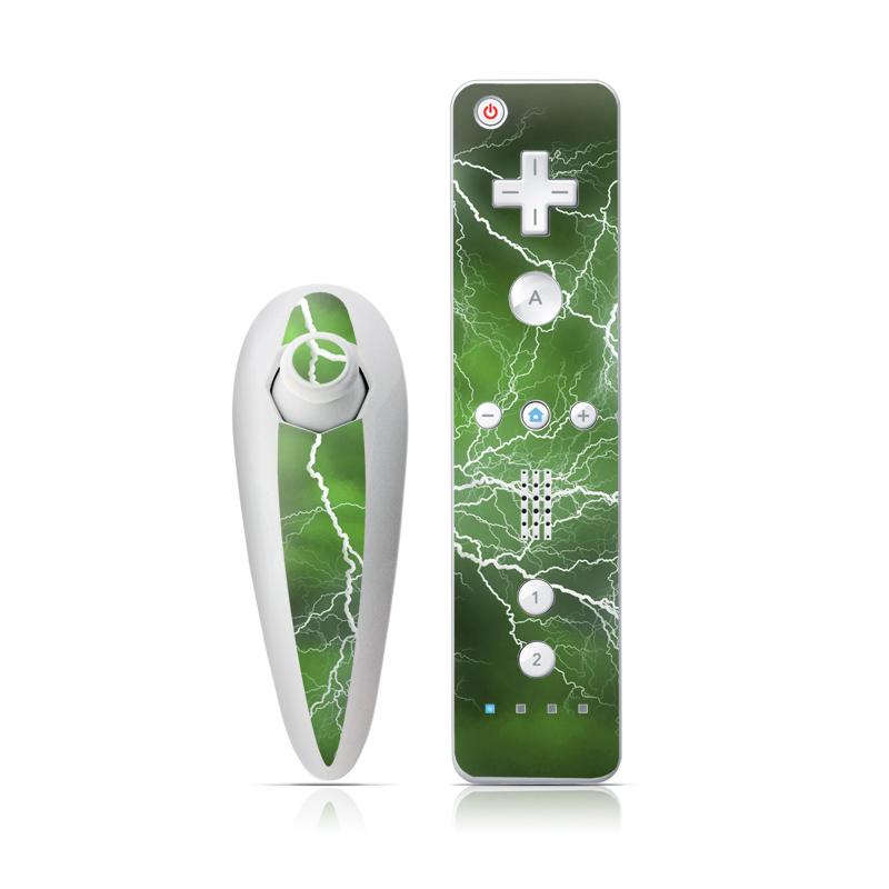 Apocalypse Green Wii Nunchuk/Remote Skin