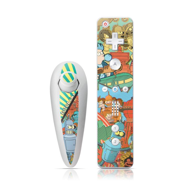 Bender Wii Nunchuk/Remote Skin