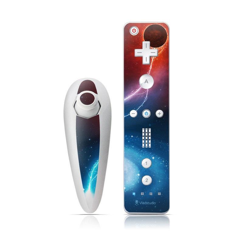 Black Hole Wii Nunchuk/Remote Skin