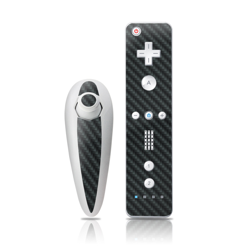 Carbon Fiber Wii Nunchuk/Remote Skin