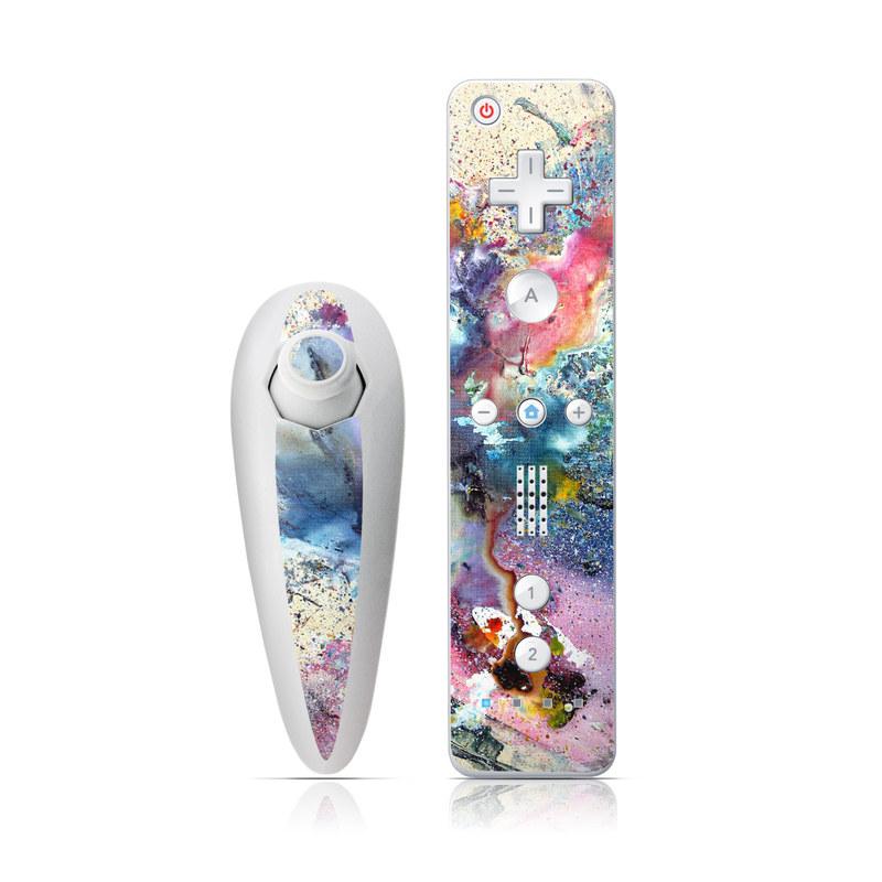 Cosmic Flower Wii Nunchuk/Remote Skin