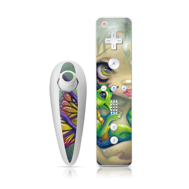 Dragonling Wii Nunchuk/Remote Skin