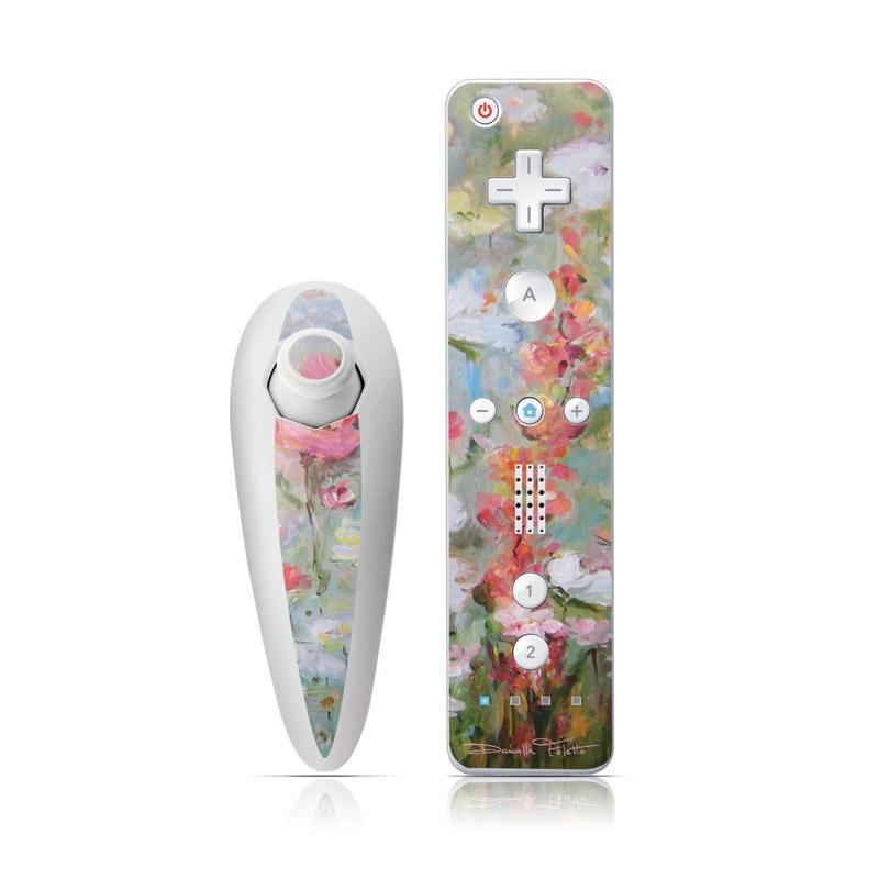 Flower Blooms Wii Nunchuk/Remote Skin