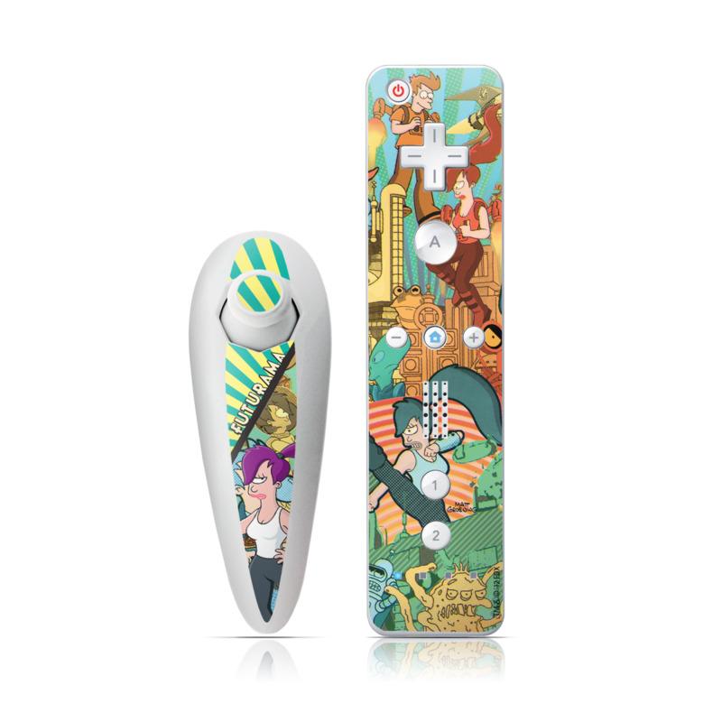Leela Wii Nunchuk/Remote Skin
