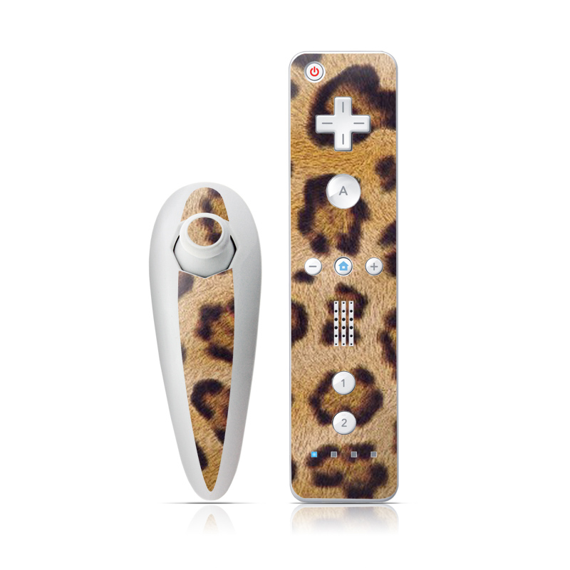 Leopard Spots Wii Nunchuk/Remote Skin