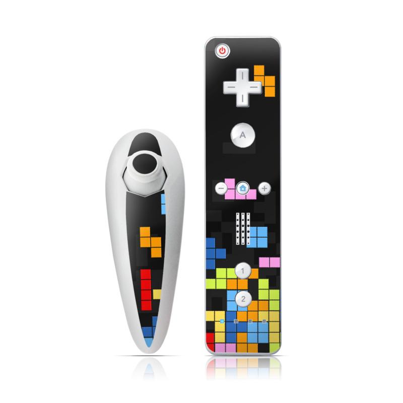 Tetrads Wii Nunchuk/Remote Skin