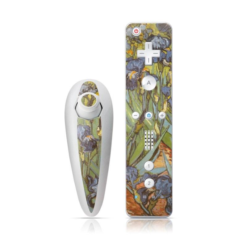 Irises Wii Nunchuk/Remote Skin
