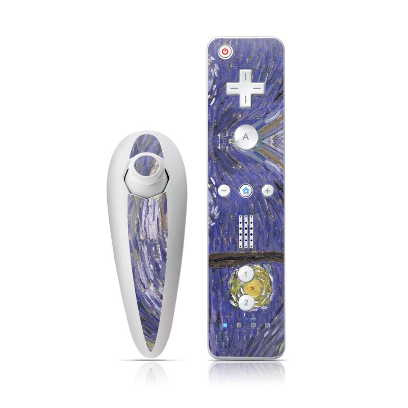 Wii Nunchuk Remote Van Gogh - Starry Night Wii Nunchuk/Remote Skin