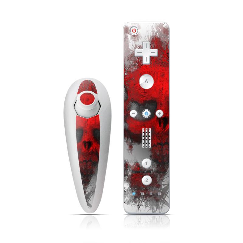 War Light Wii Nunchuk/Remote Skin