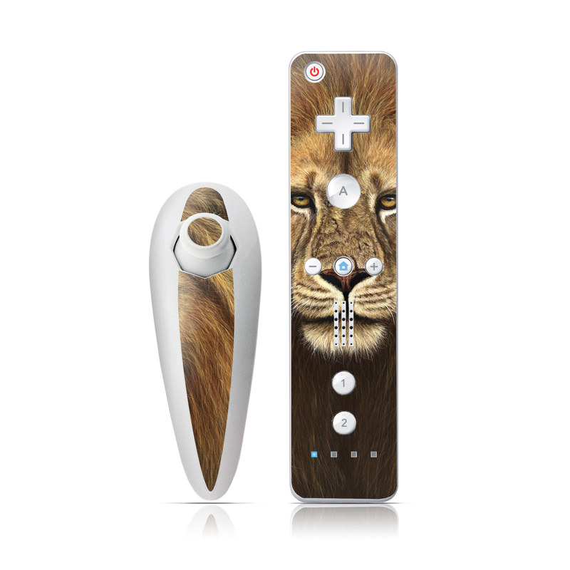 Warrior Wii Nunchuk/Remote Skin