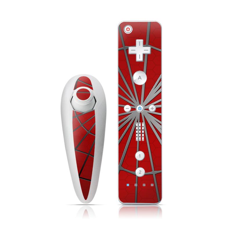 Webslinger Wii Nunchuk/Remote Skin