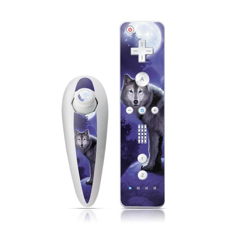 Wolf Wii Nunchuk/Remote Skin