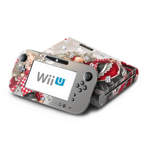 Queen Of Cards Nintendo Wii U Skin