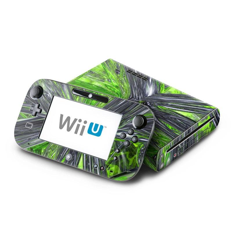 Emerald Abstract Nintendo Wii U Skin