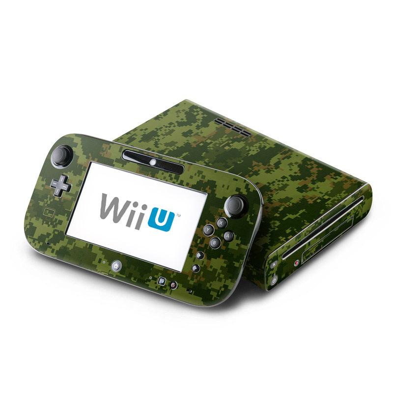 CAD Camo Nintendo Wii U Skin