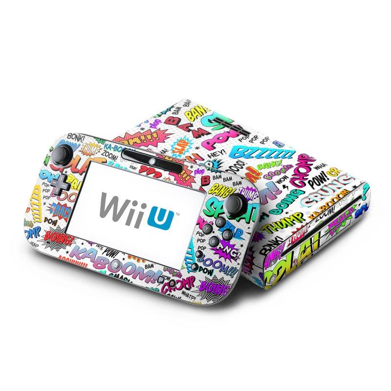 Comics Nintendo Wii U Skin