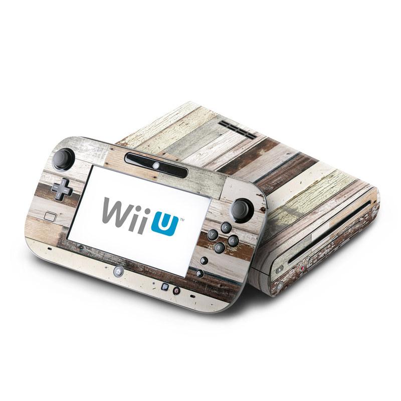 Eclectic Wood Nintendo Wii U Skin