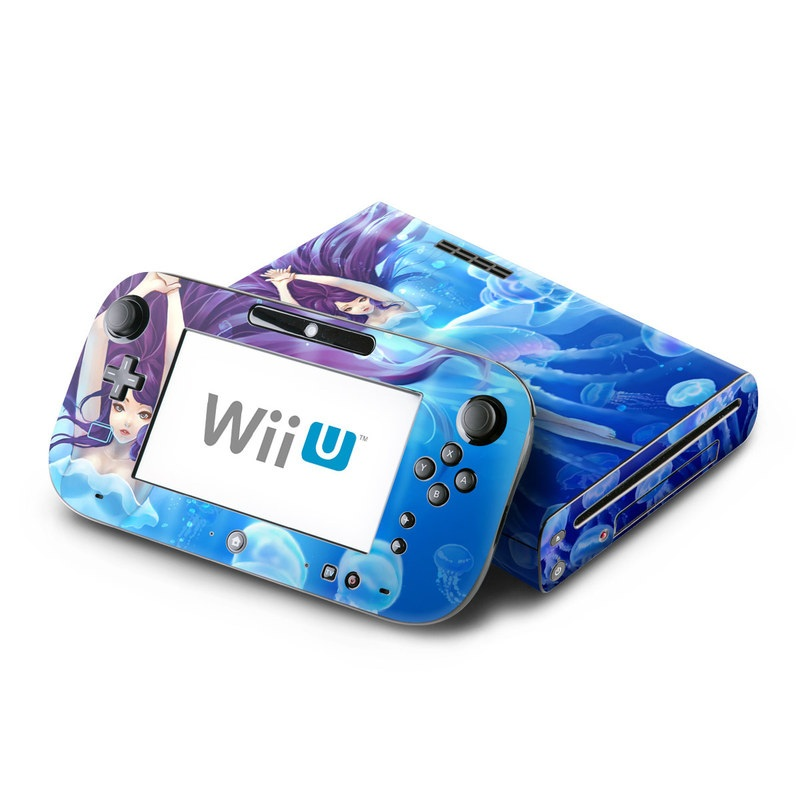 Jelly Girl Nintendo Wii U Skin