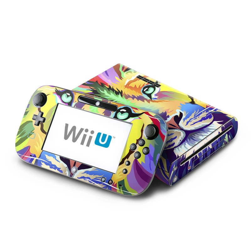 King of Technicolor Nintendo Wii U Skin
