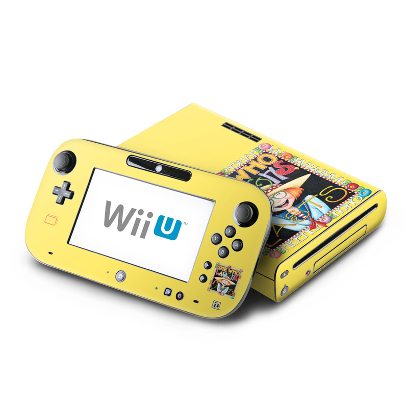 She Who Laughs Nintendo Wii U Skin