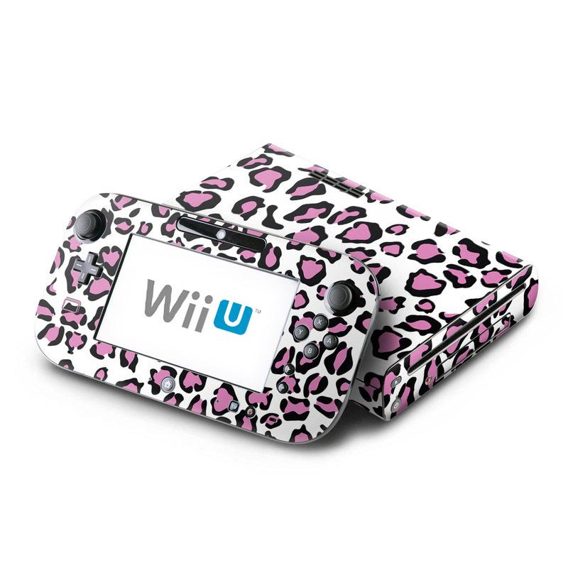 Leopard Love Nintendo Wii U Skin