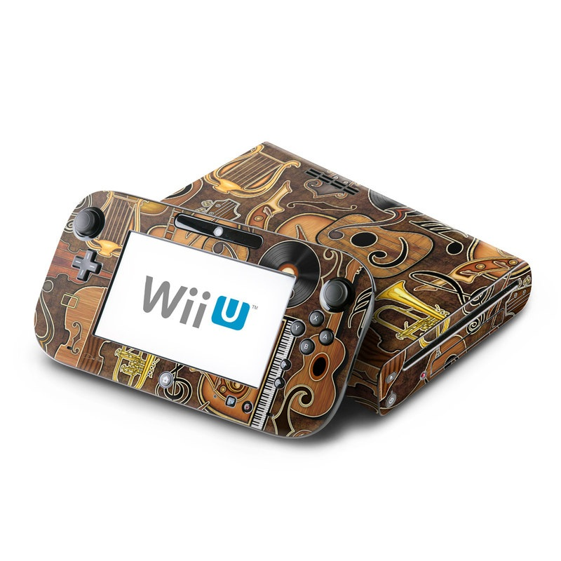 Music Elements Nintendo Wii U Skin