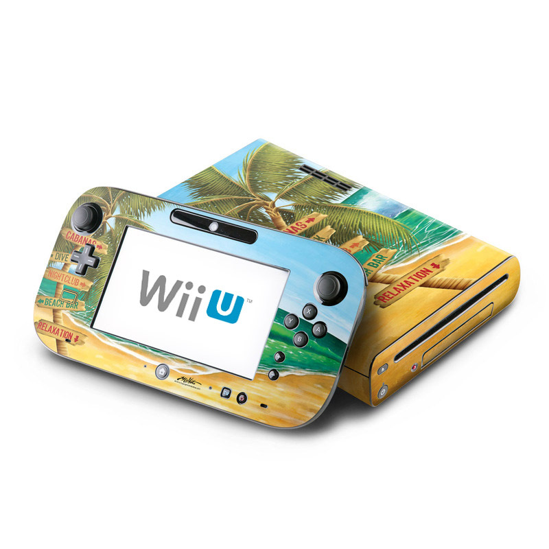 Palm Signs Nintendo Wii U Skin