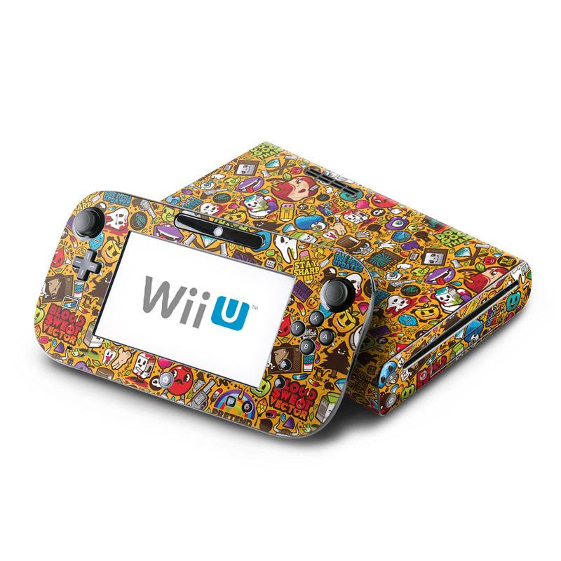 Psychedelic Nintendo Wii U Skin