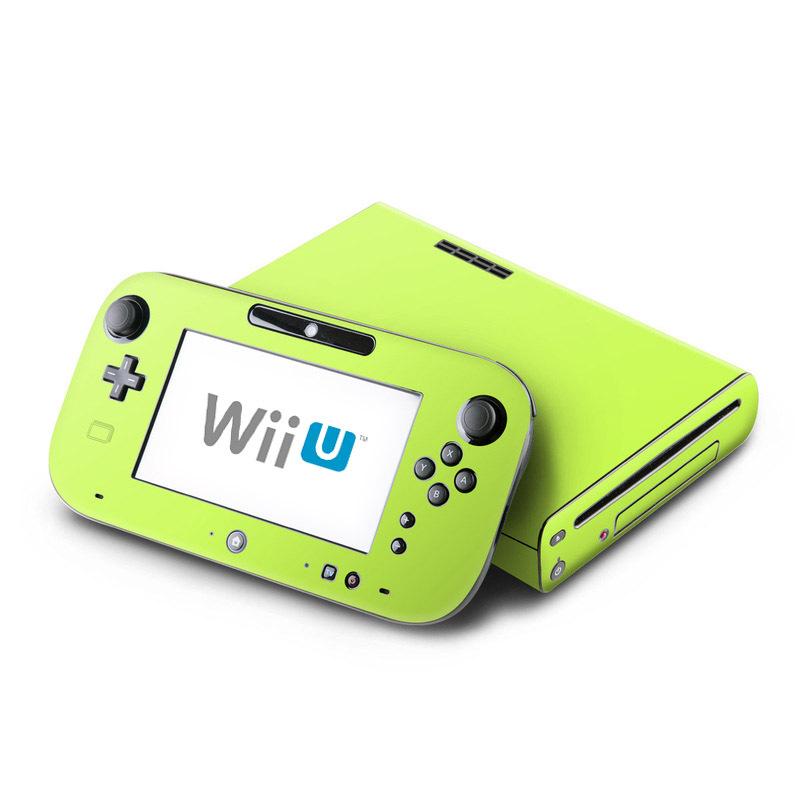 Solid State Lime Nintendo Wii U Skin
