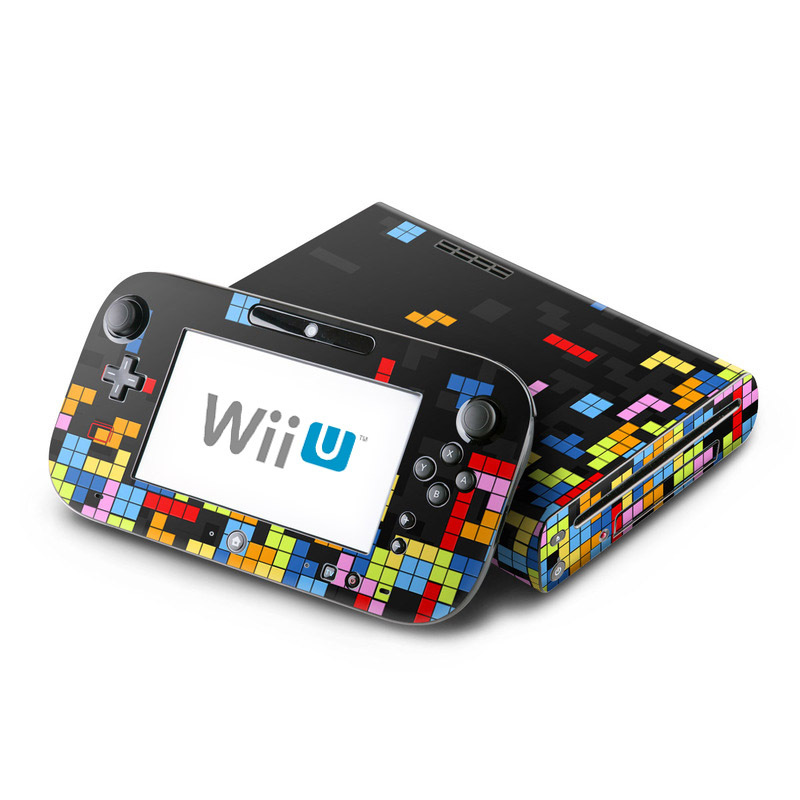 Wii U Skin design of Pattern, Symmetry, Font, Design, Graphic design, Line, Colorfulness, Magenta, Square, Graphics with black, green, blue, orange, red colors