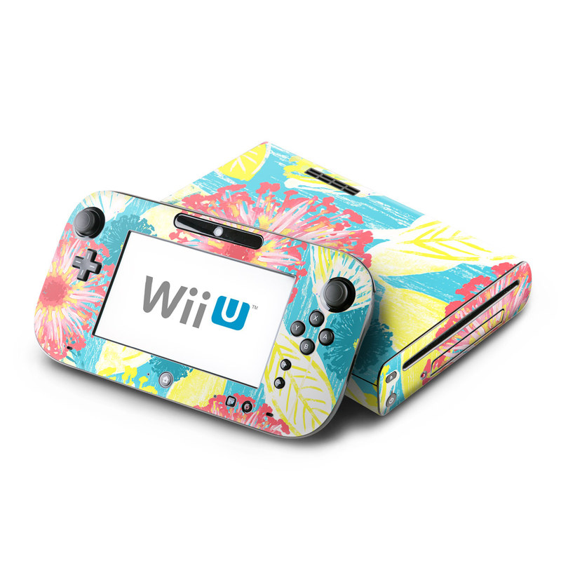 Tickled Peach Nintendo Wii U Skin