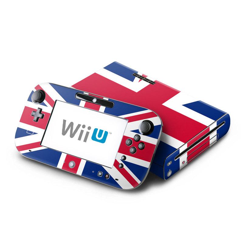 Union Jack Nintendo Wii U Skin