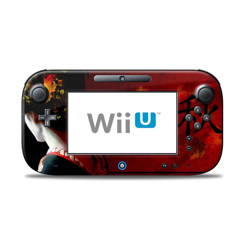 Autumn Nintendo Wii U Controller Skin