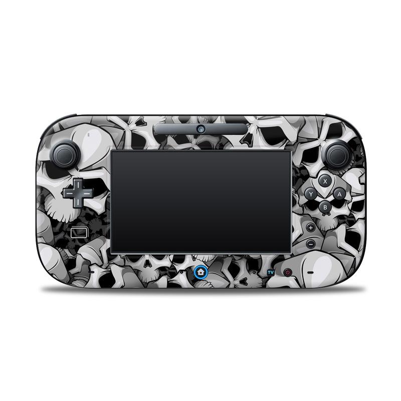 Bones Nintendo Wii U Controller Skin
