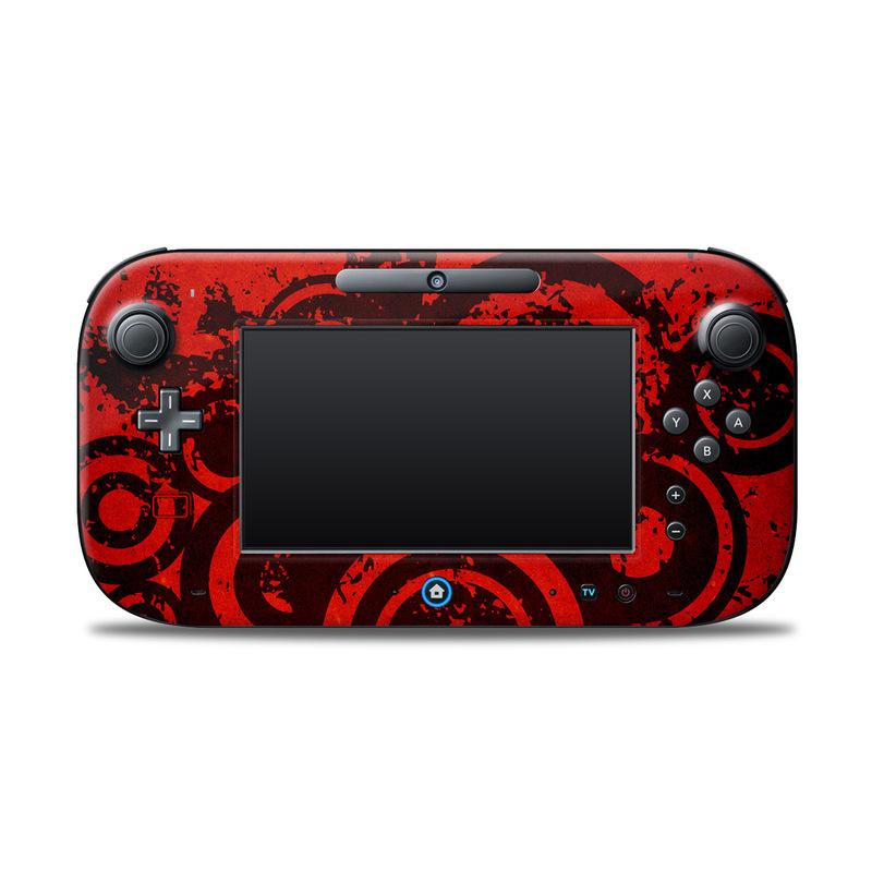 Bullseye Nintendo Wii U Controller Skin