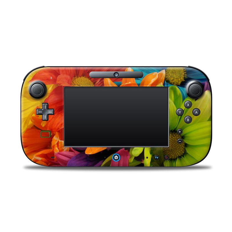 Colours Nintendo Wii U Controller Skin