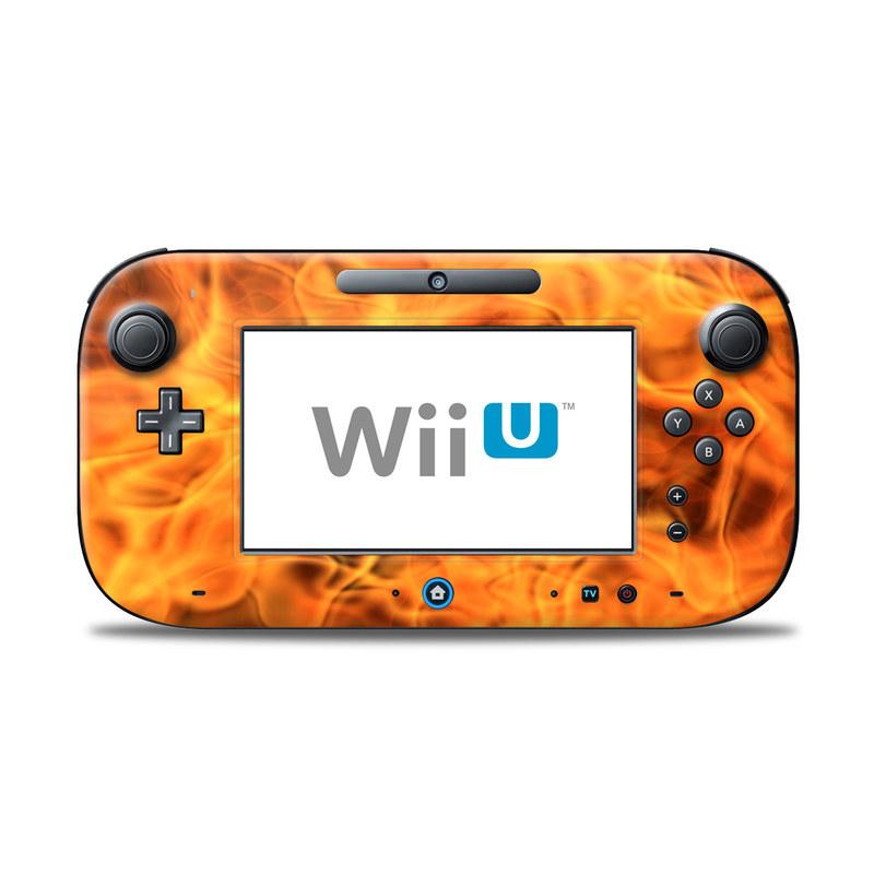 Combustion Nintendo Wii U Controller Skin