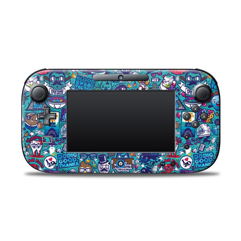 Cosmic Ray Nintendo Wii U Controller Skin